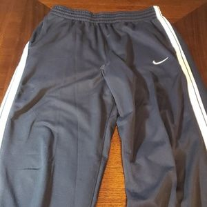 Nike Basketball Men's Black Sweatpants